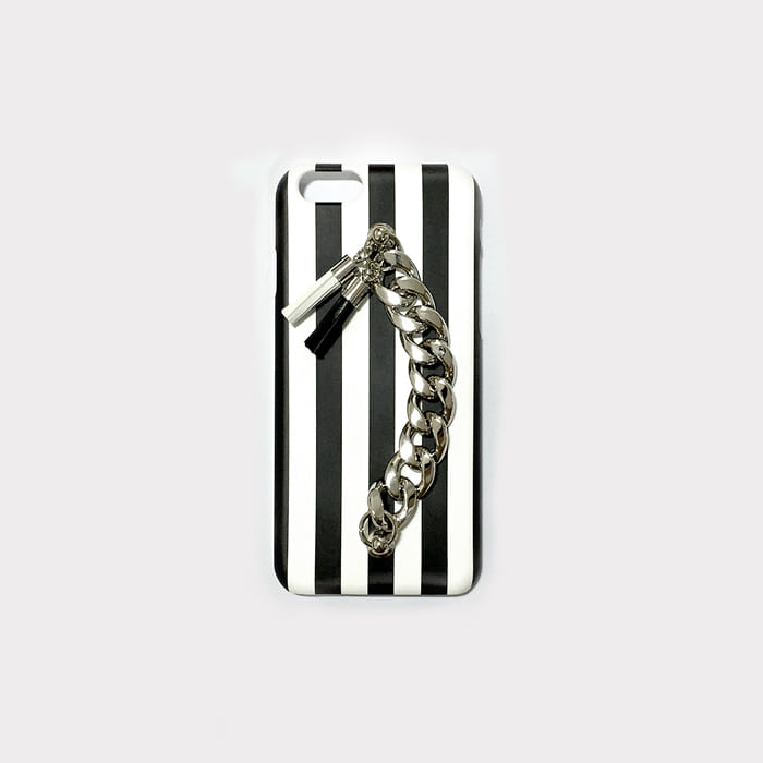 stripe tassel case.
