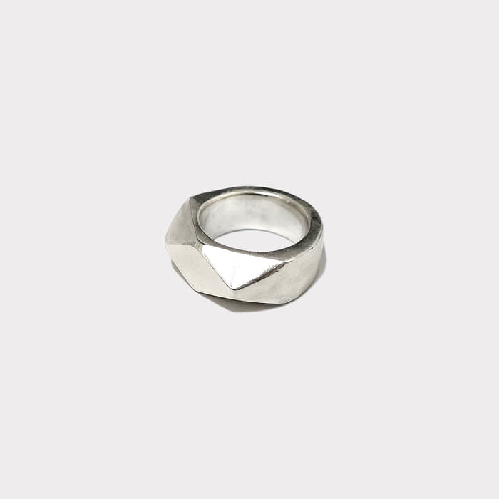 [silver925] polygon ring