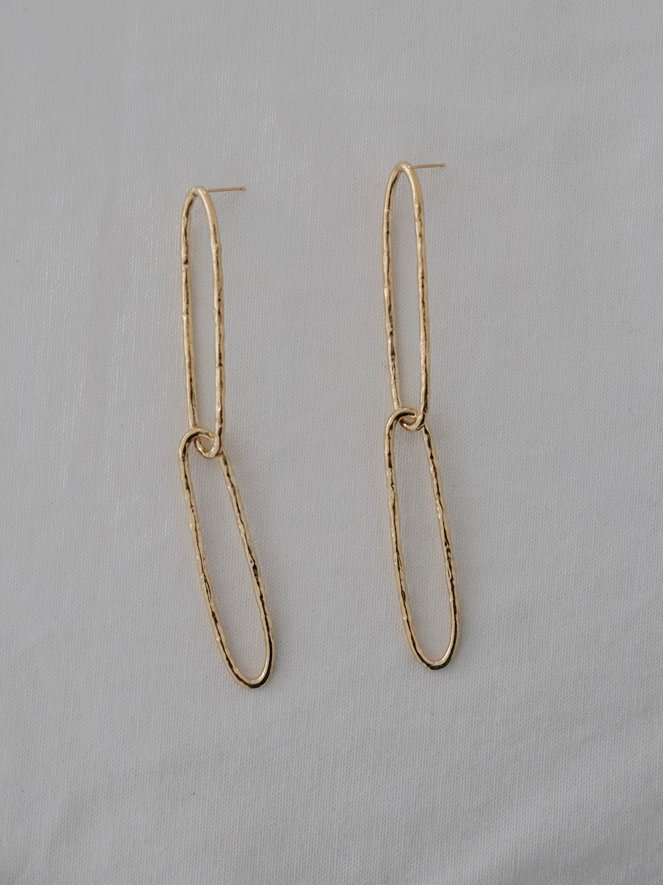 link chain long earring