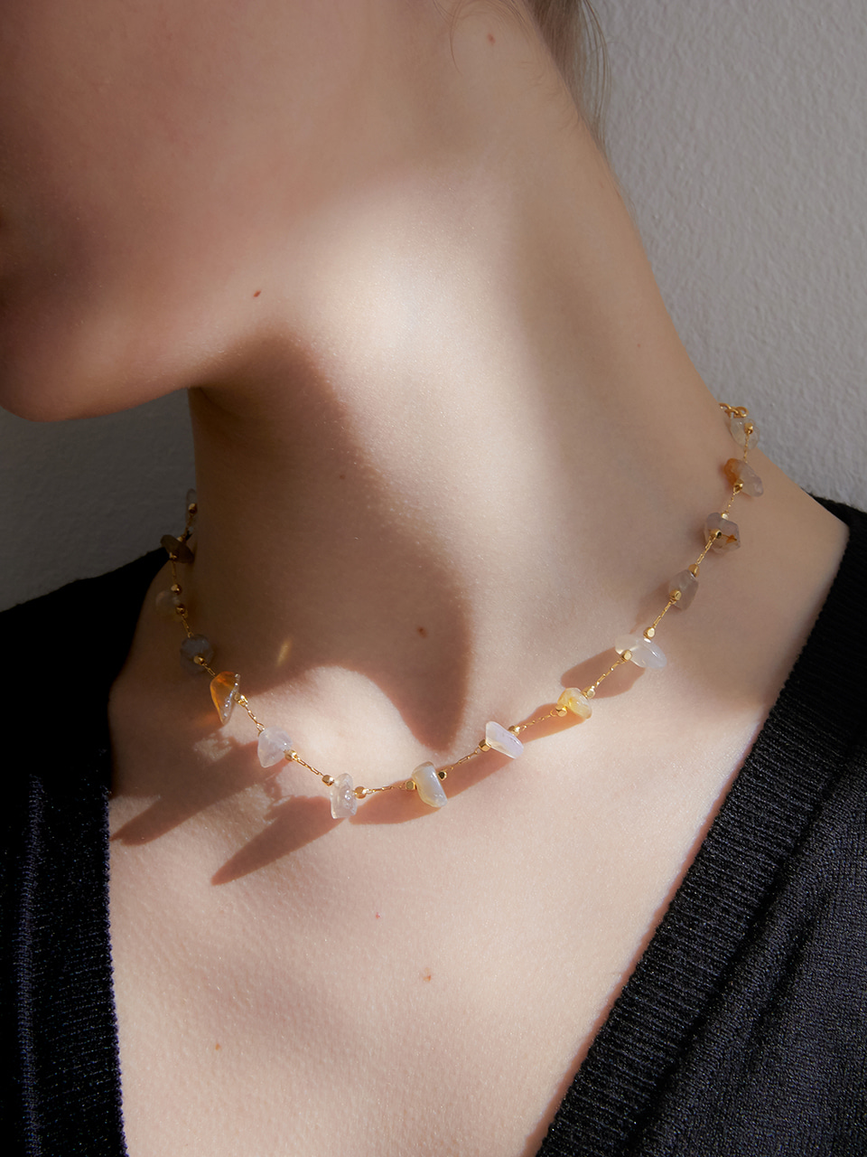 salt necklace (choker)