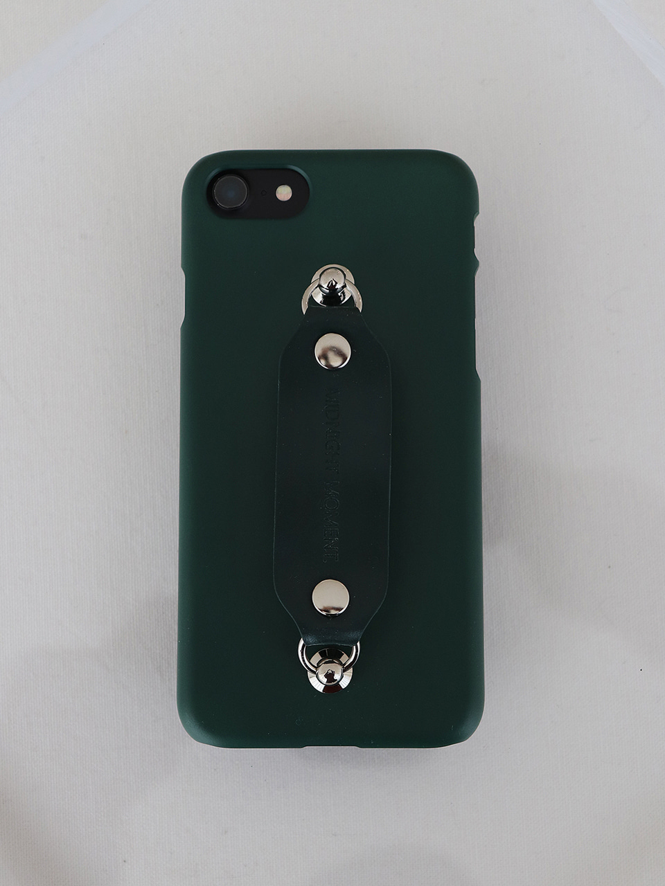 leather grip case deepgreen - deepgreen