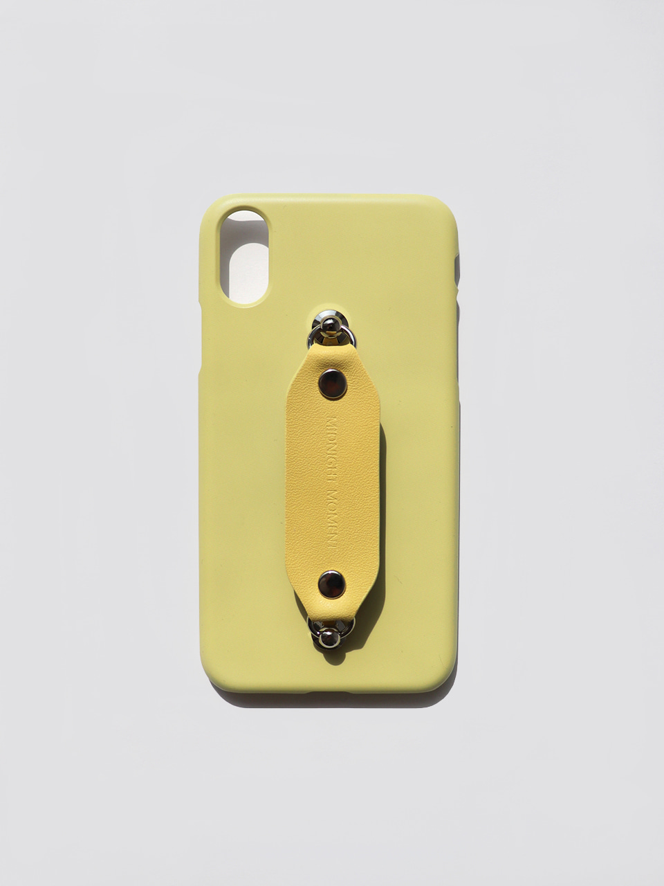 leather grip case lemon