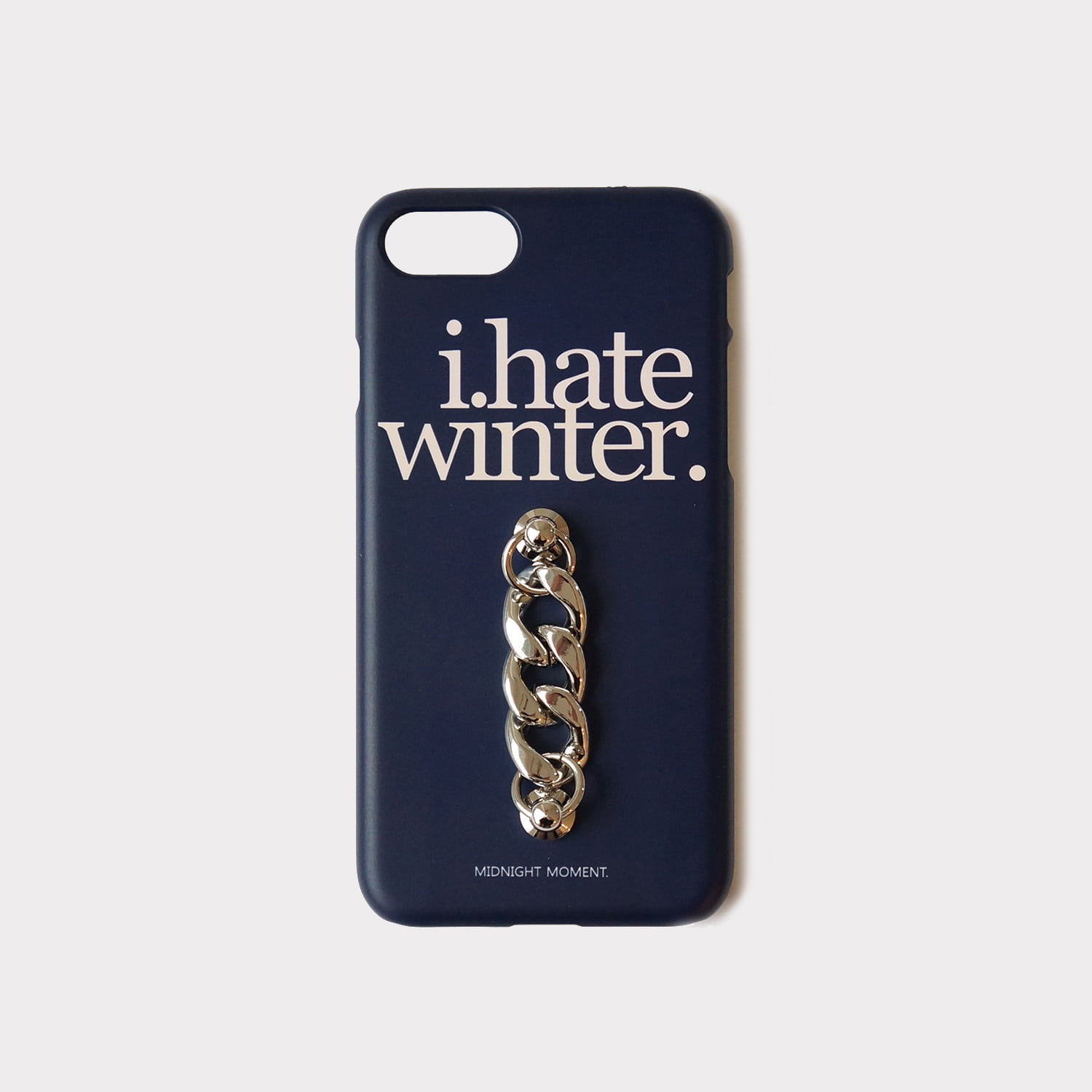 i hate winter - navy