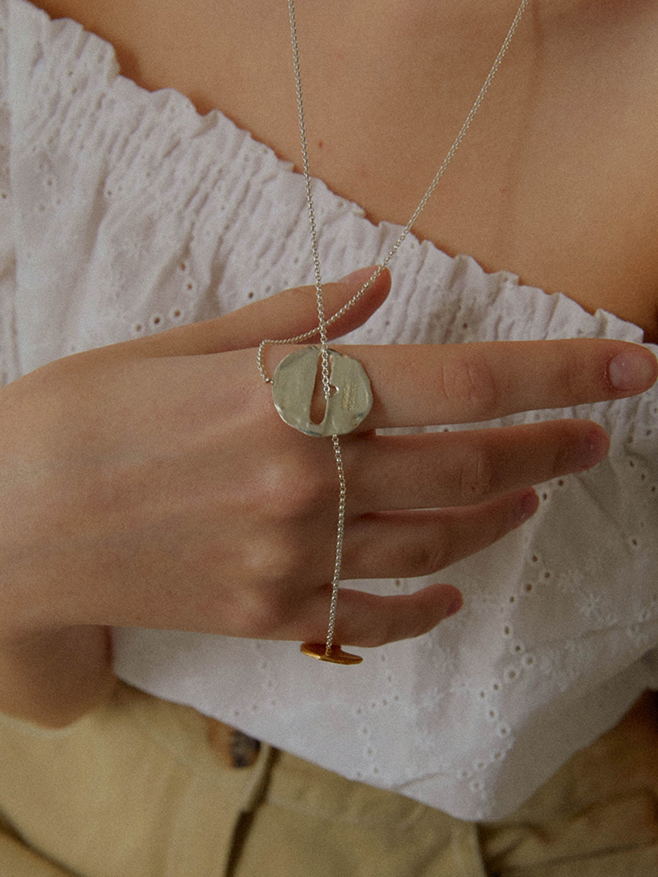 connect coin necklace