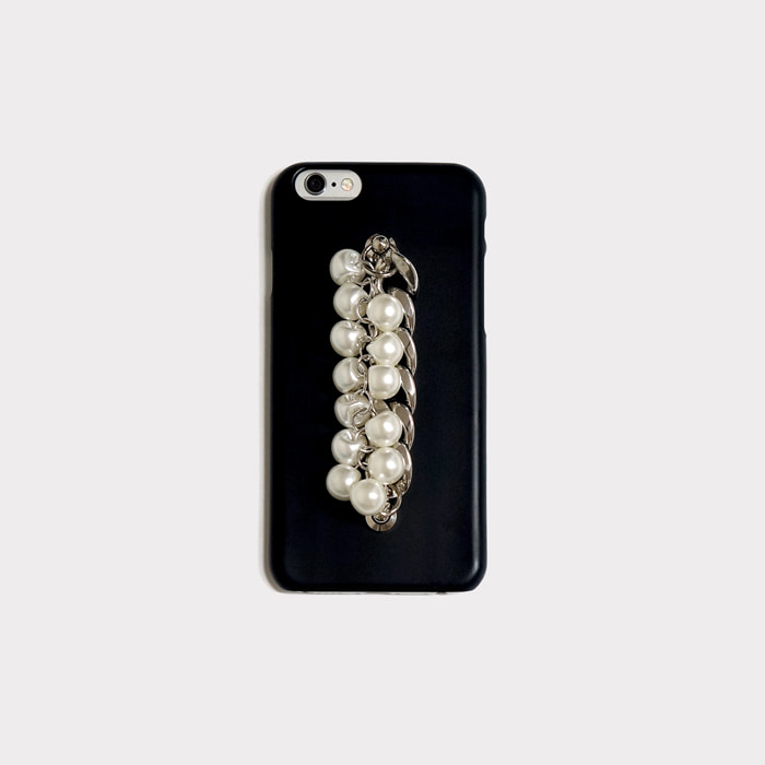 pearl chain black case