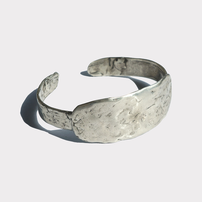 [silver925] rough need bangle