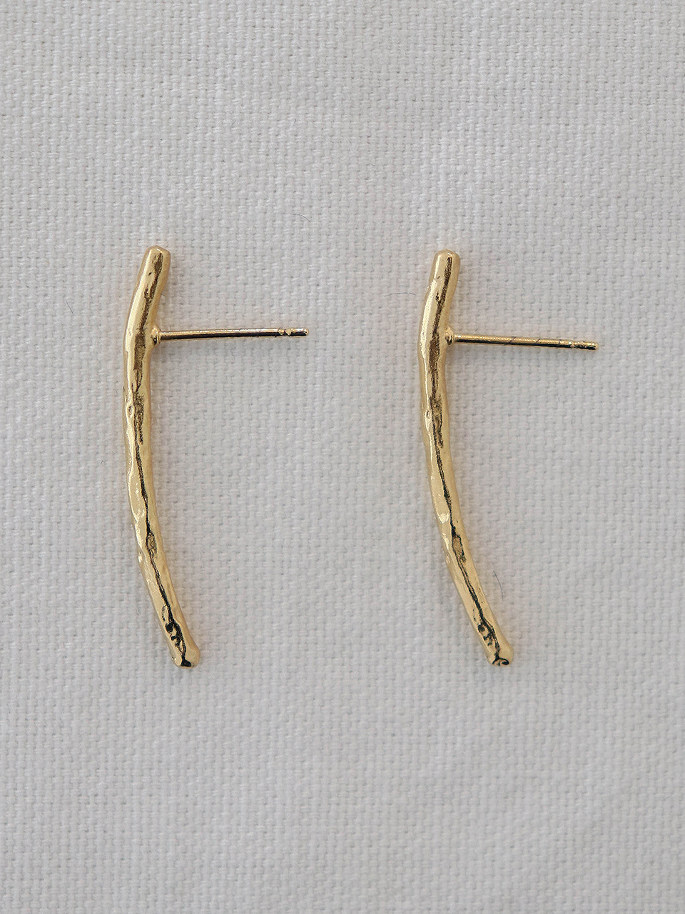 short line earring