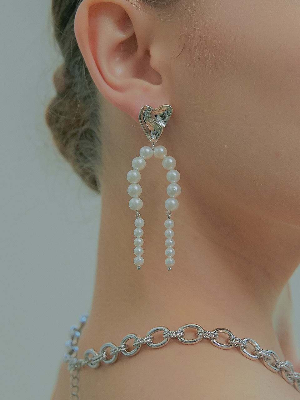 love drop earring