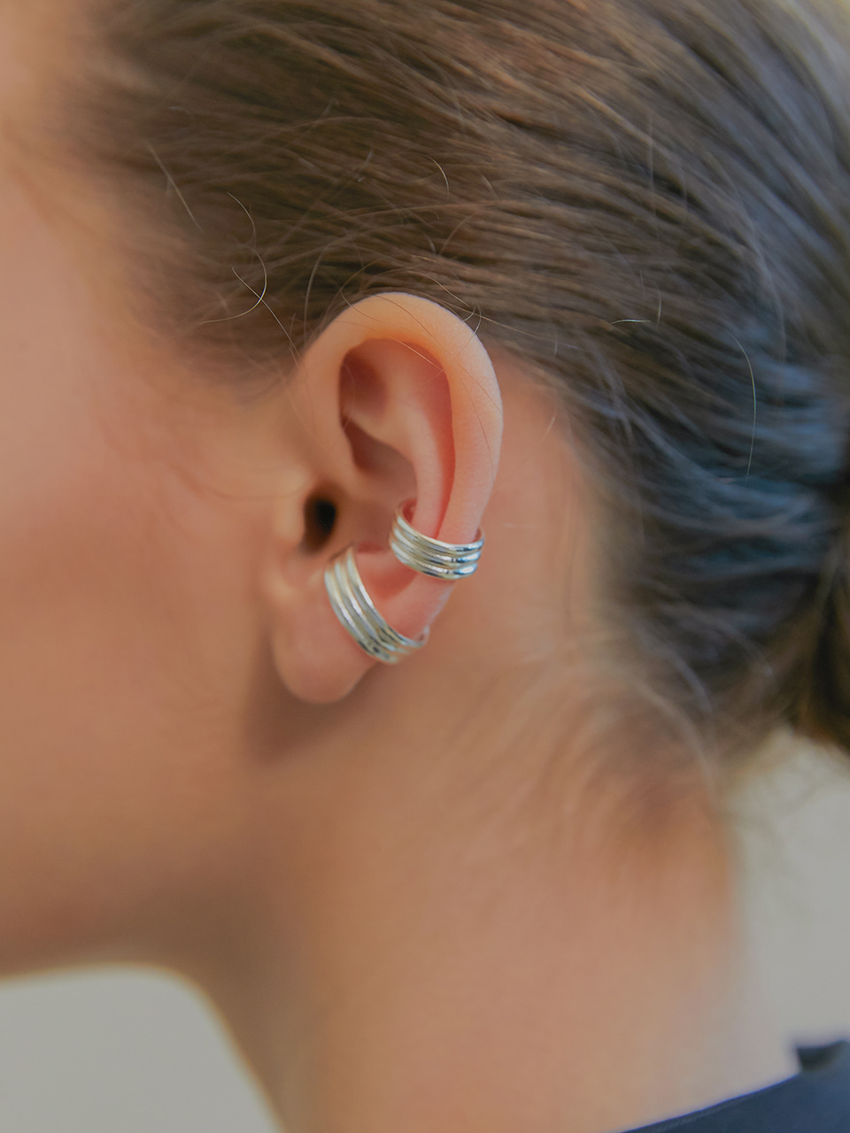 three line earcuff