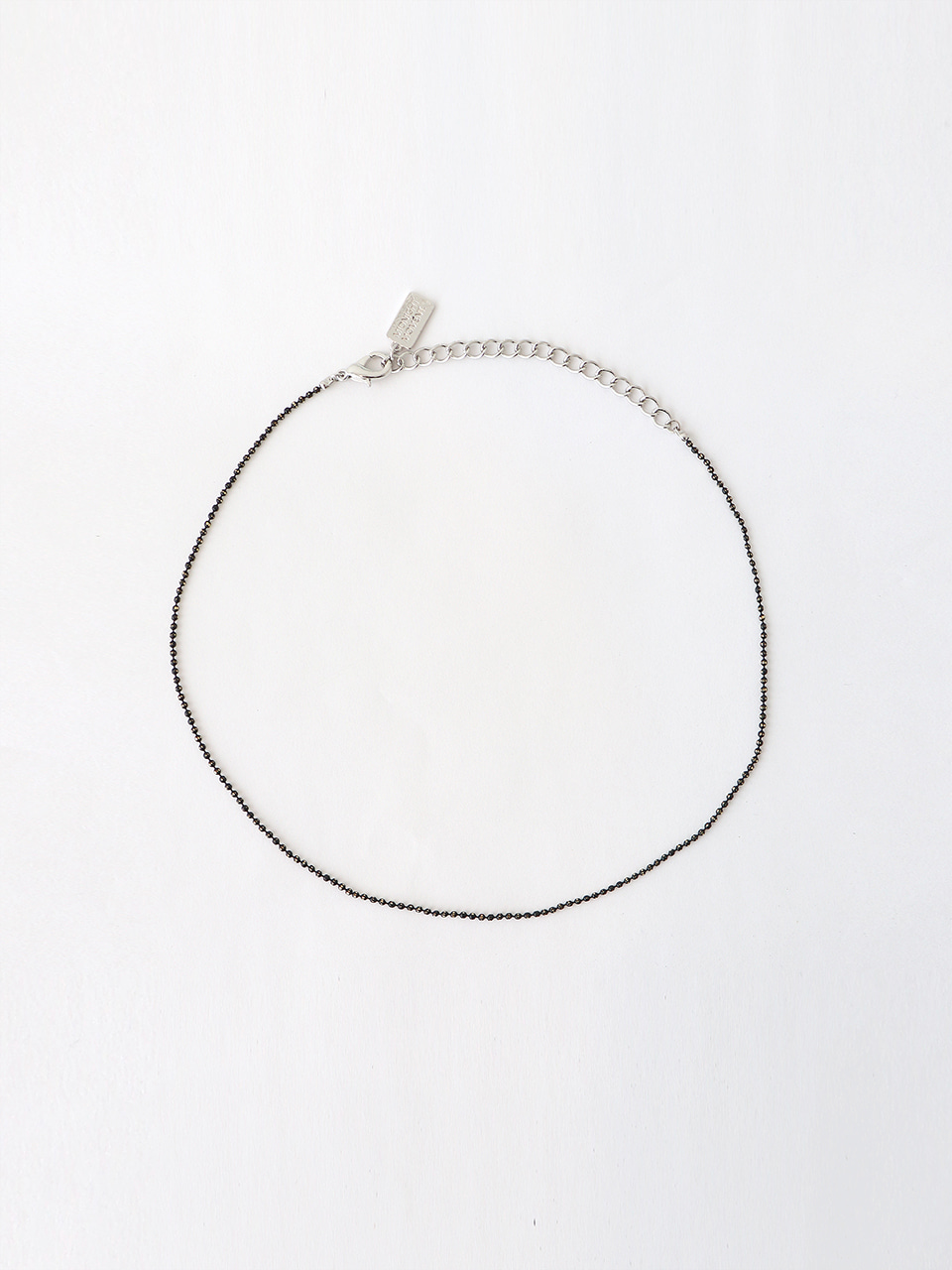 black ball chain necklace (choker)